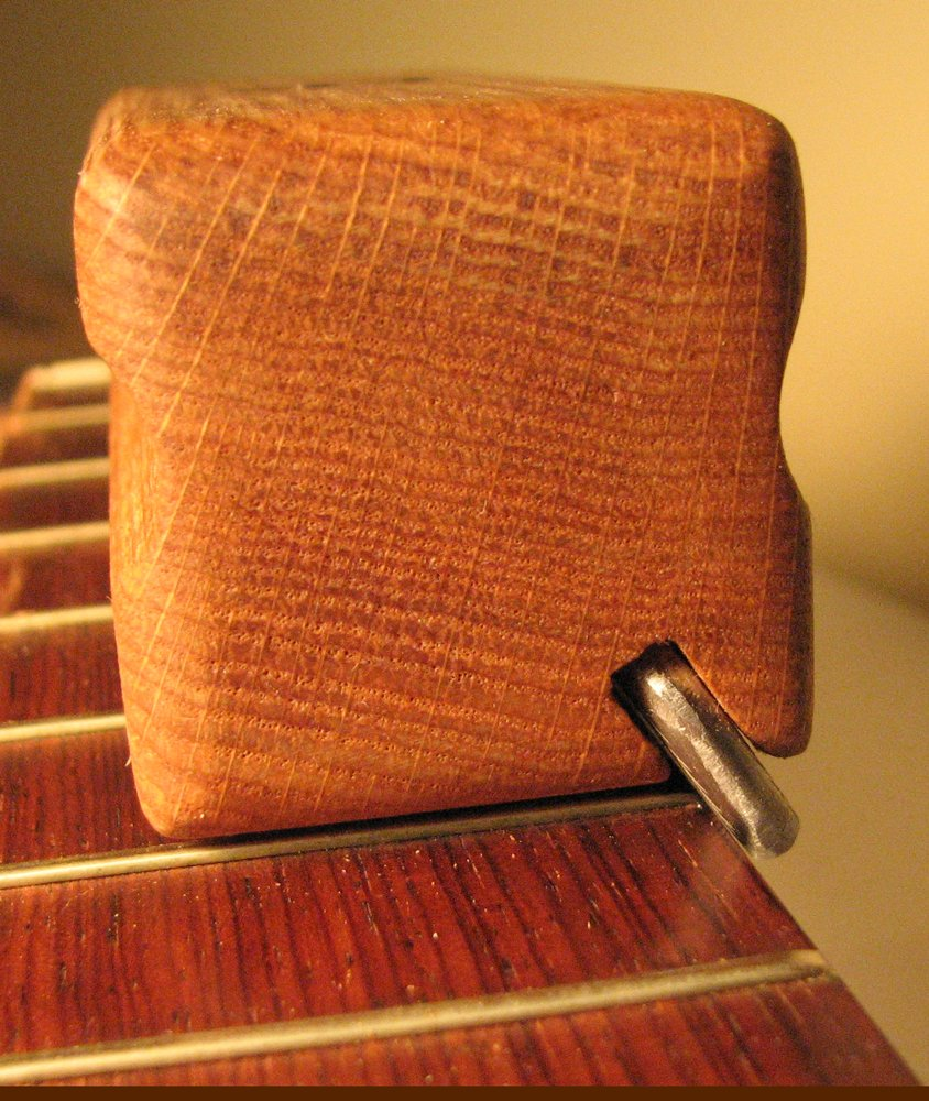 Small Guitar Fret Beveling File: 4 3/4-inch
