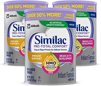 3-Pack Similac Pro-Total Comfort Infant Formula