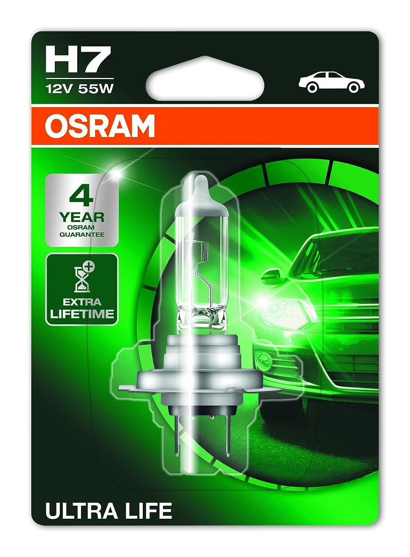 Osram COOL BLUE INTENSE H7, Halogen-Scheinwerferlampe, 64210CBI-HCB, 12V PKW, Duobox (2 Stü ck)