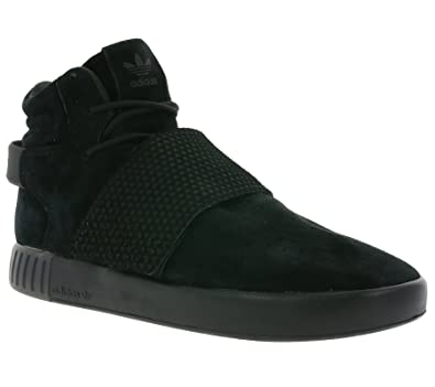 f845185db7b Adidas Originals Tubular Invader Strap Mens Hi Top Trainers Sneakers Shoes