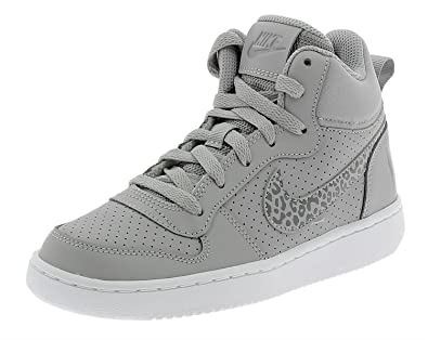 25bc285f26e76 Nike Court Borough Mid GS Chaussures Fille Gris 845107003 385 EU ...