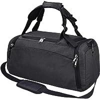 Newhey 40-L Duffle Waterproof Travel Weekender Bag (Black or Grey)