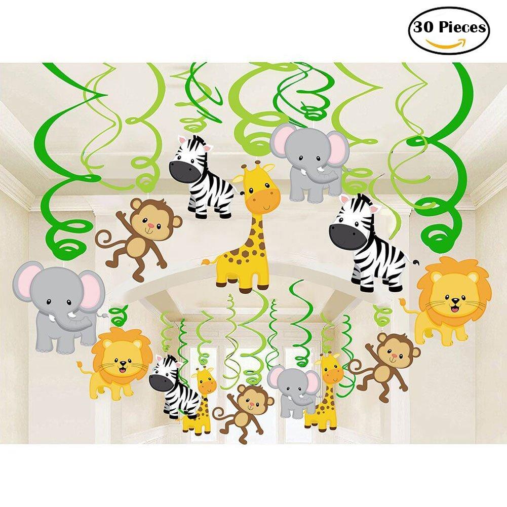 Chandeliers & Pendant Lights |Safari Animal Baby Shower Favors