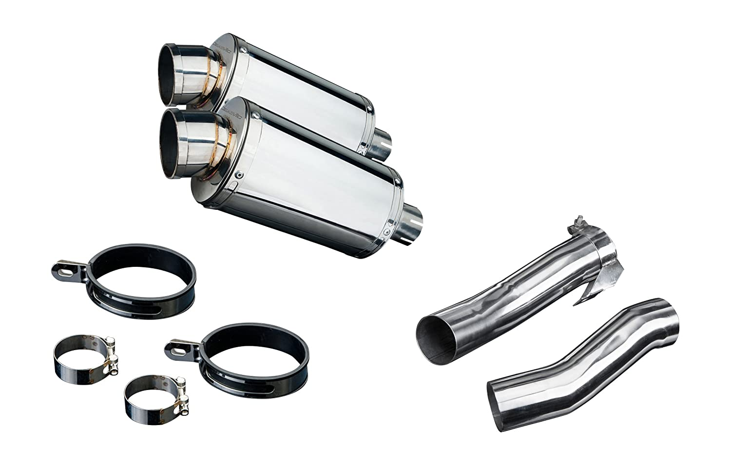 "Amazon.com: Kawasaki Ninja 1000 9"" Stainless Oval Muffler ..."