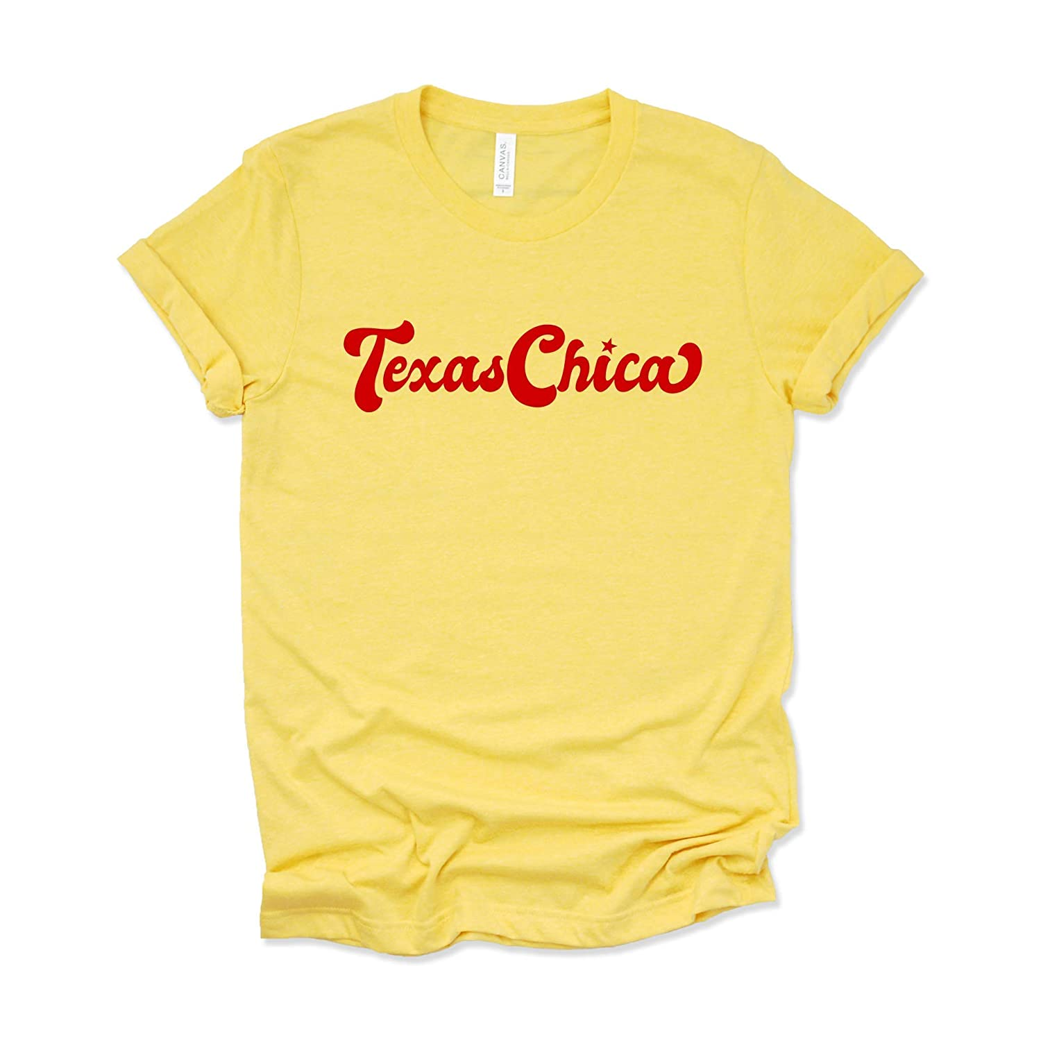 df5578c1 Texas Chica T Shirt Texas Girl Womens Graphic Tees Cute Summer TShirts
