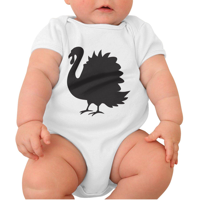 Amazon Com Zhangyuyu Turkey Clipart Silhouette Short Sleeve Baby