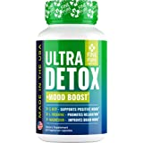 Detox Herbal Supplement - Made in USA - Potent Liver & Urinary Tract Cleanse Supplement for Toxin Removal, Better Mood and Ov