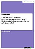 Kann durch den Einsatz von experimentellen Hausaufgaben die Motivation im Anfangsunterricht Chemie gefördert werden?