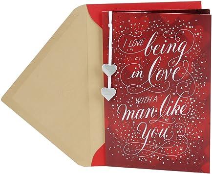 Strange Amazon Com Hallmark Anniversary Card Or Romantic Birthday Card Personalised Birthday Cards Paralily Jamesorg