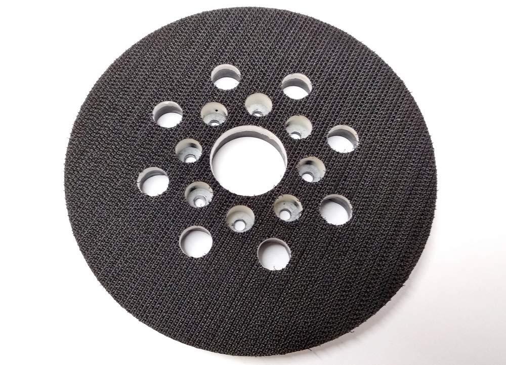 Plato de apoyo con velcro de 125 mm de di/ámetro para lijadora exc/éntrica Bosch GEX 125-1 AE.