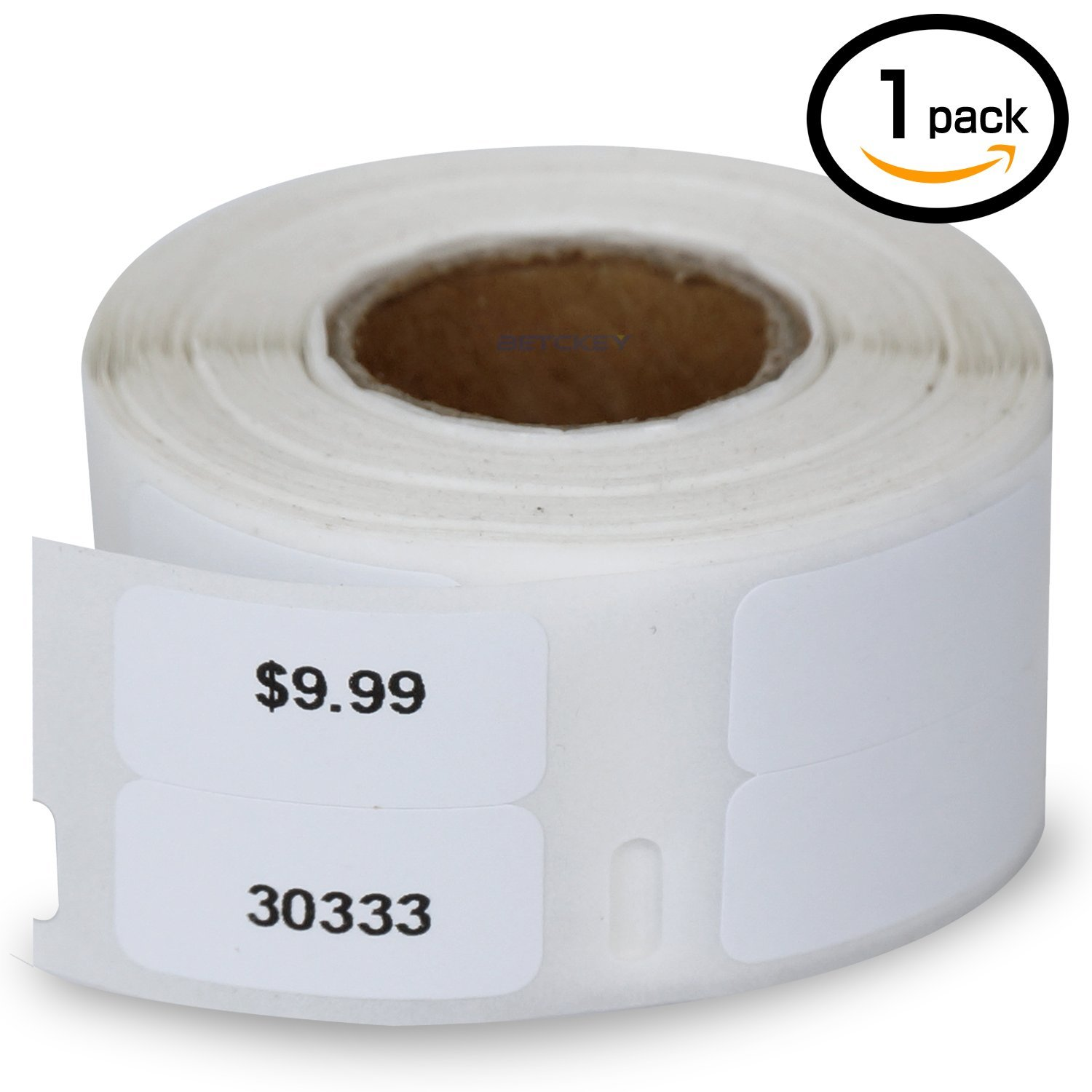 """1 Rolls Dymo 30333 Compatible 1/2"""" x 1""""(12mm x 24mm) LabelWriter Self-Adhesive White Extra Small 2-Up Multipurpose Labels"""