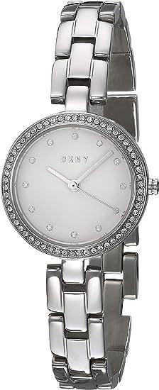 DKNY Women's City Link Stainless Steel Dress Quartz Watch
