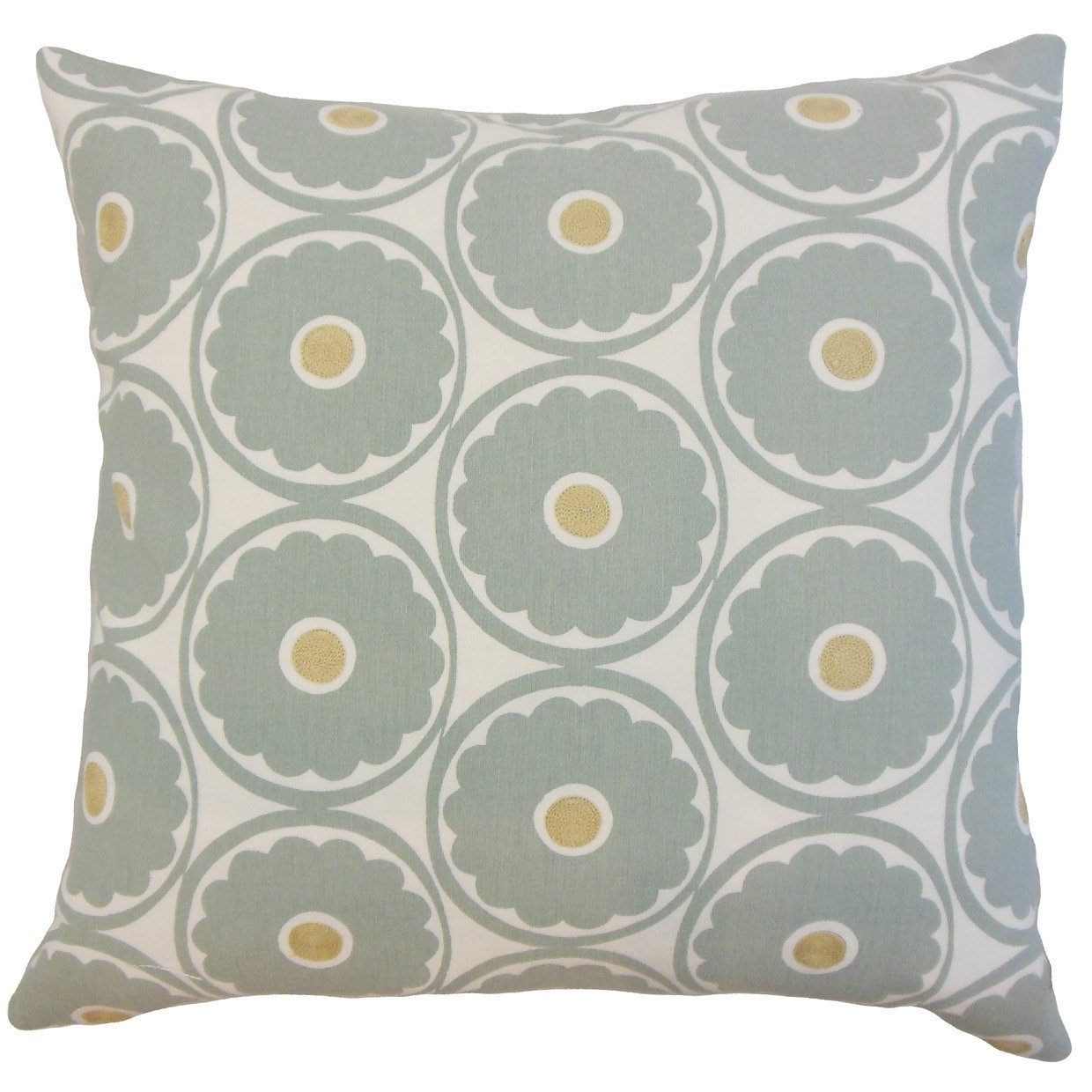 The Pillow Collection Spa Day Floral Bedding Sham, King/20'' x 36''