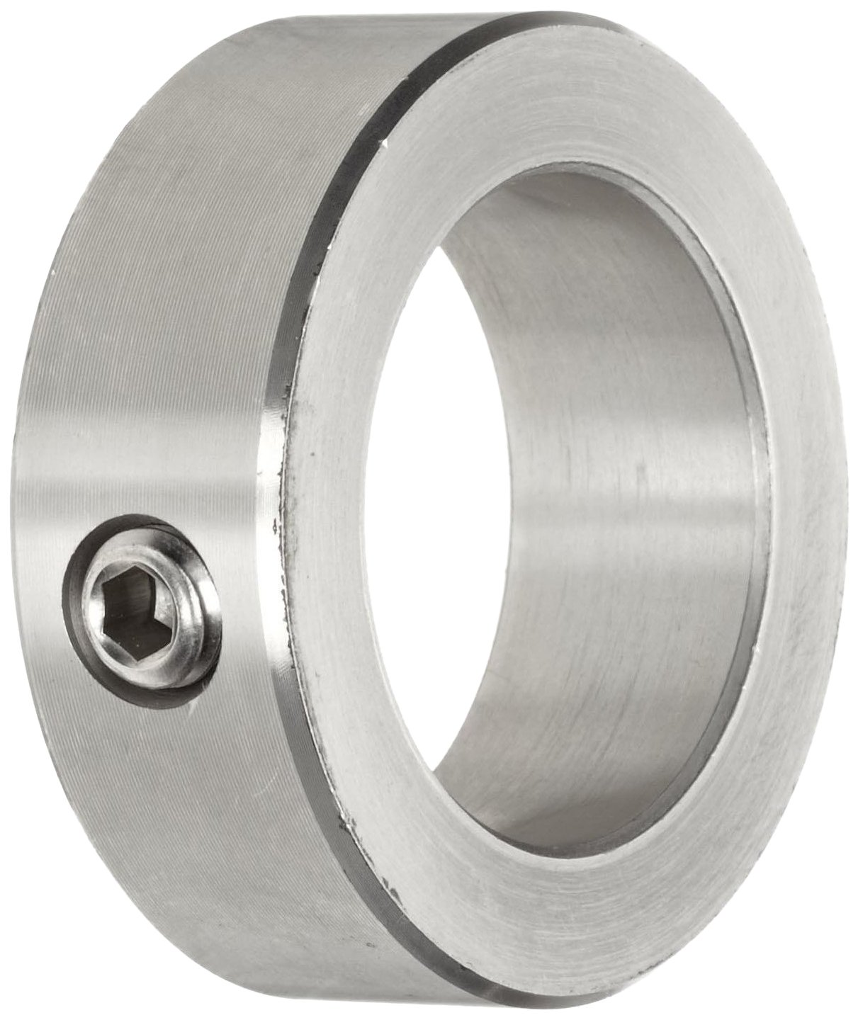 "B000P0Q95K Climax Metal C-112-S Shaft Collar, One Piece, Set Screw Style, Stainless Steel, 1-1/8"" Bore, 1-3/4"" OD, 5/8"" Width, With 5/16-18 x 5/16 Set Screw 71zq33ElwiL"