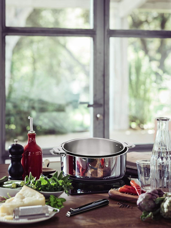 LAGOSTINA SALVASPAZIO 012135020424 Marmite 24 cm inox Tous feux dont induction anses et poign/és vendues s/éparemment