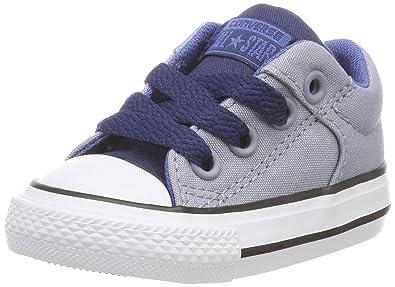 Converse Unisex Kinder CTAS Street Slip Glacier Grey/Navy/Night Hohe Sneaker