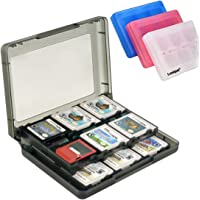 Luniquz 26 in 1 Game Card Case Holder for Nintendo New 3DS / 3DS / Dsi / Dsi XL / Dsi LL/ DS / DS Lite Cartridge Box /Black