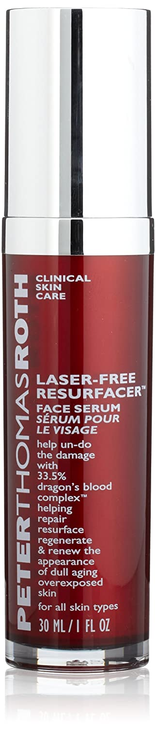 Peter Thomas Roth Laser Free Resurfacer Face Serum, 1 Fluid Ounce 670367012703