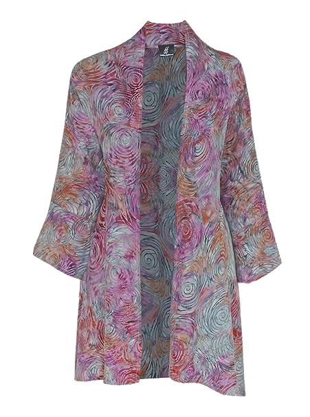 Long Sleeve Cardigan | Oversized Cardigan Kimono for Women, One Plus Size 1x 3x