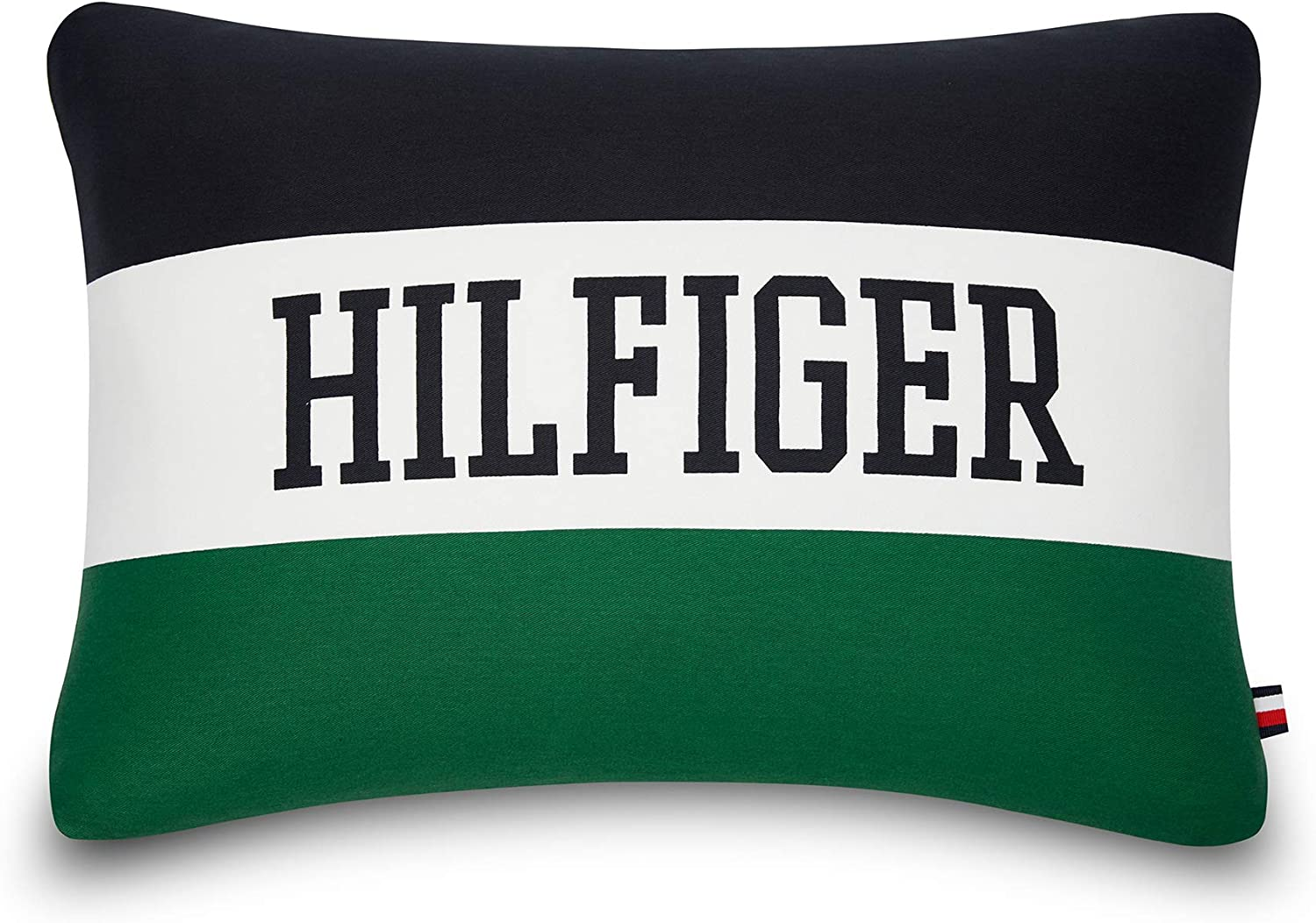 Tommy Hilfiger Collegiate Decorative Pillow, 15x20 inch, Green