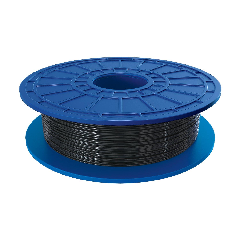 Dremel PLA 3D Printer Filament, 1.75 mm Diameter, 0.5 kg Spool Weight, Black