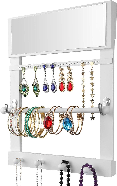 Halcent Porta Joyas Expositor Organizadora Joyas Expositores Joyeria Soportes Joyas para Collares Pendientes Pulseras