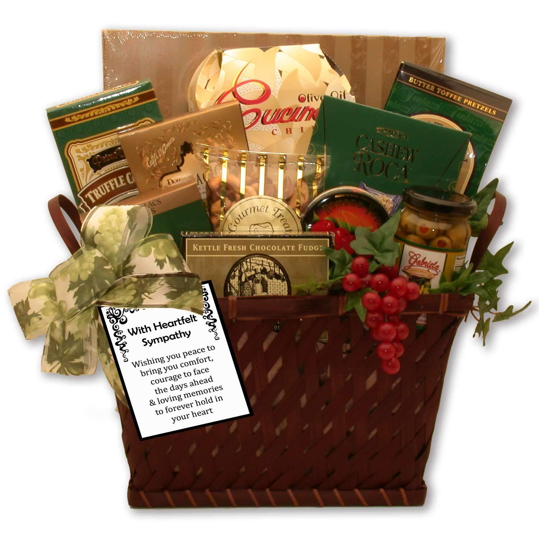 With Heartfelt Sympathy & Warm Wishes Sympathy Gift Baskets