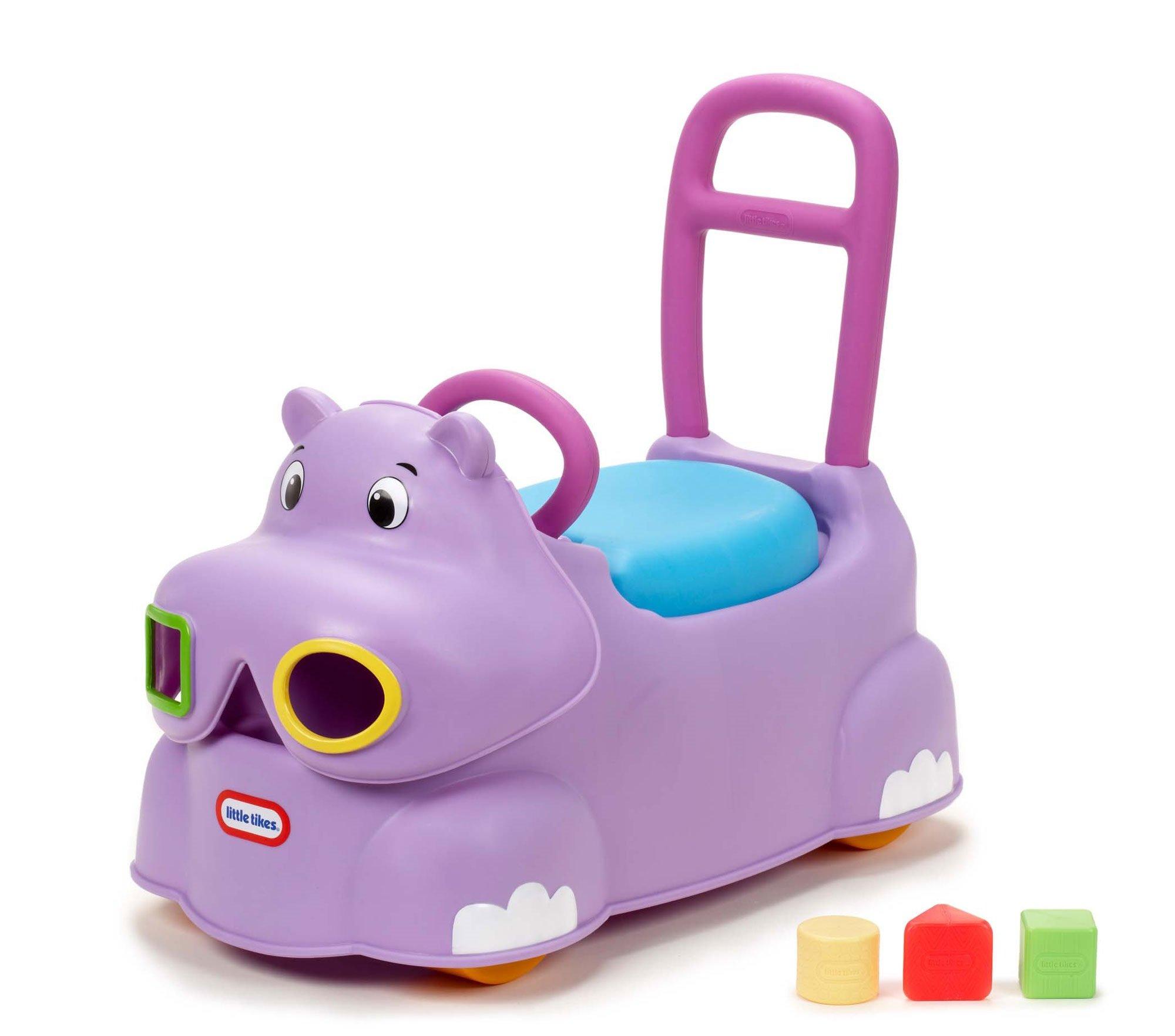 Little Tikes Scoot Around Animal Ride-On - Hippo