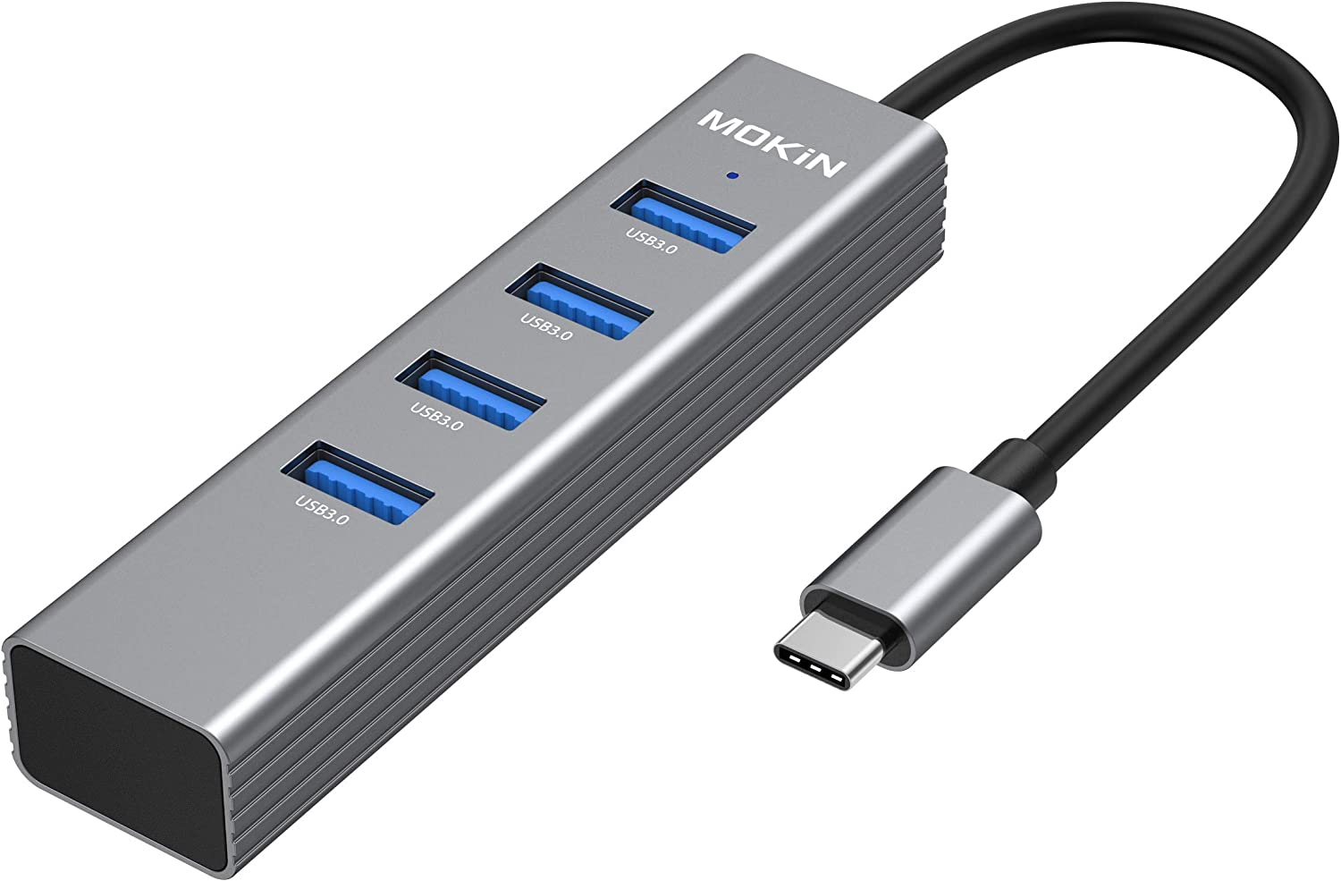 USB C to USB Adapter, Thunderbolt 3/USB Type C to USB 3.0 Adapter Hub for MacBook Pro/Air/iMac Pro 2019, Surface Go, Dell XPS 13 15, ChromeBook,Lenovo Yoga 920 and More
