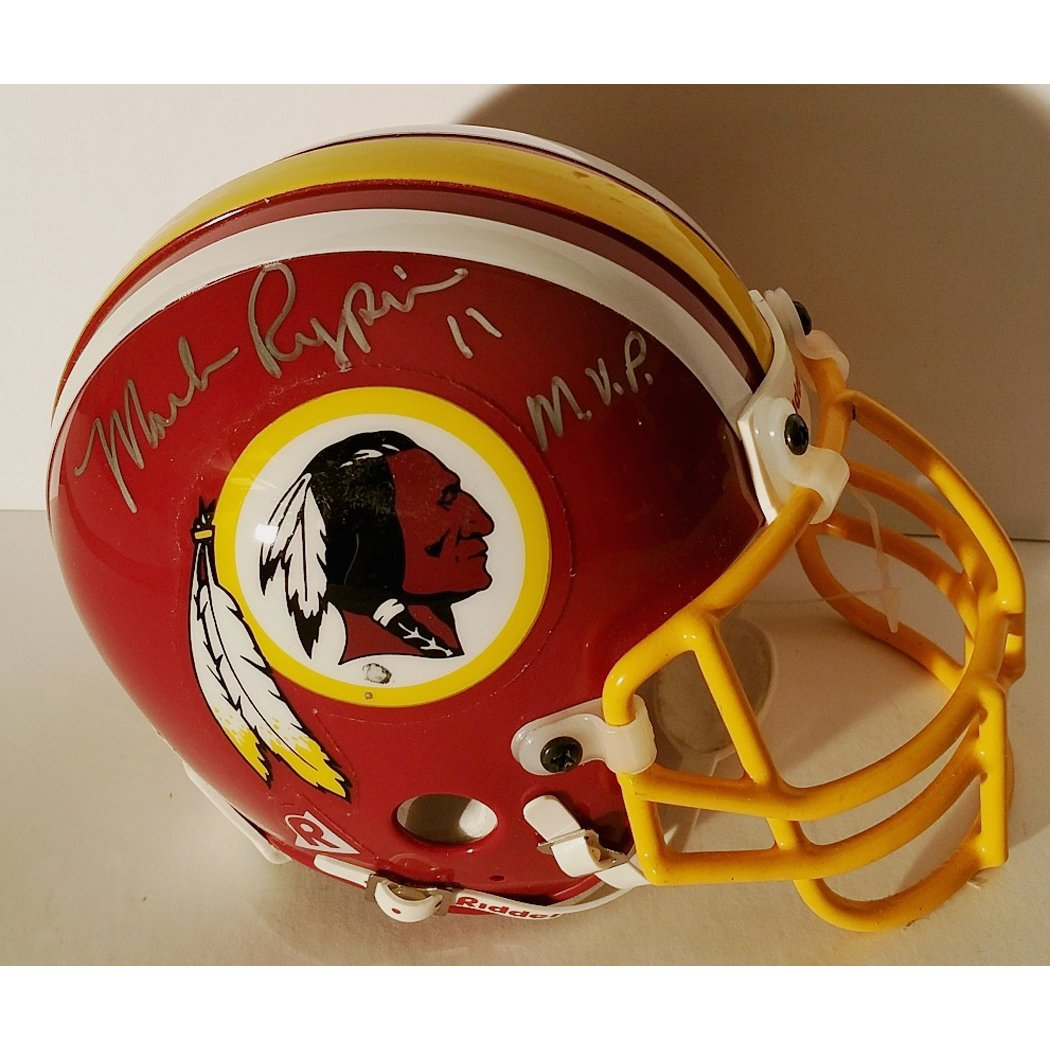 75ad997b Amazon.com: Mark Rypien Washington Redskins hand signed mini helmet ...