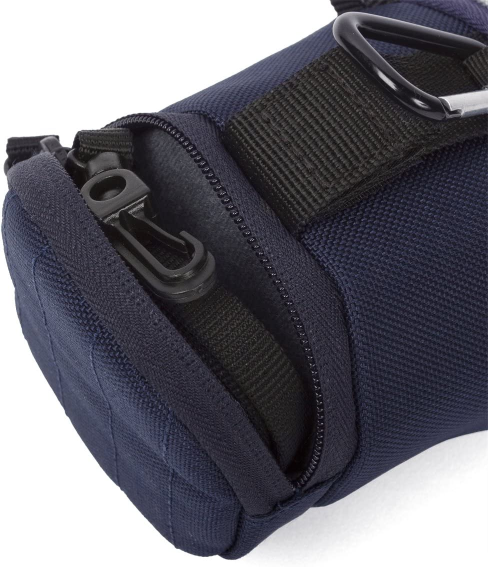 Crumpler Base Layer Lens Case BLLC-S-002 Neopren Objektiv Tasche blau