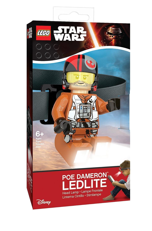 LEGO Star Wars Head Lamp - Poe Dameron LED Light with Elastic Headband
