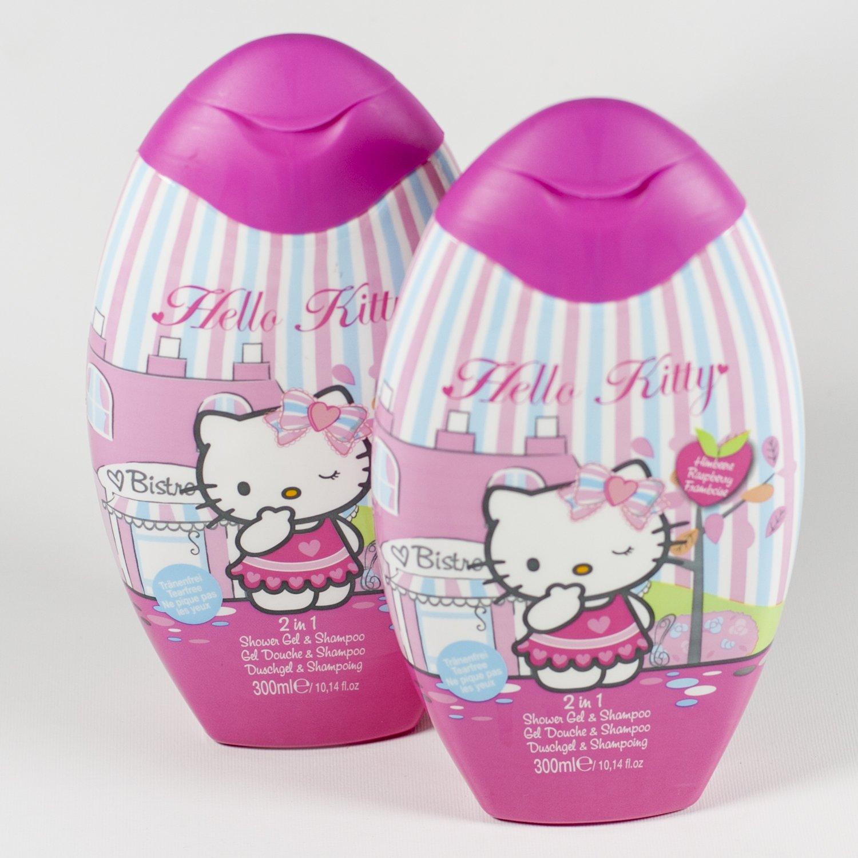 Hello Kitty - Duschgel / Schampoo, Himbeere