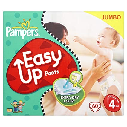 PAMPERS Pañales Easy Up