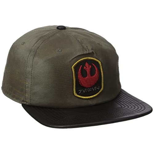 7ade00513f6 ... greece bioworld mens star wars rogue one distressed rebel slouch snapback  cap 26052 e1306 ...