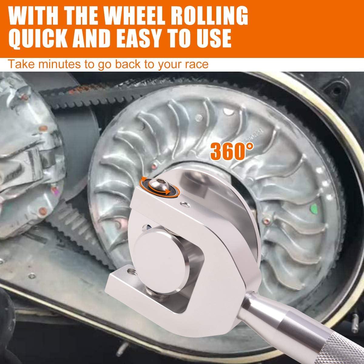 Polaris RZR Belt Changing Tool for Polaris RZR XP Turbo//S 2016-2019 Polaris RZR RS1 2018 and 2019 Models