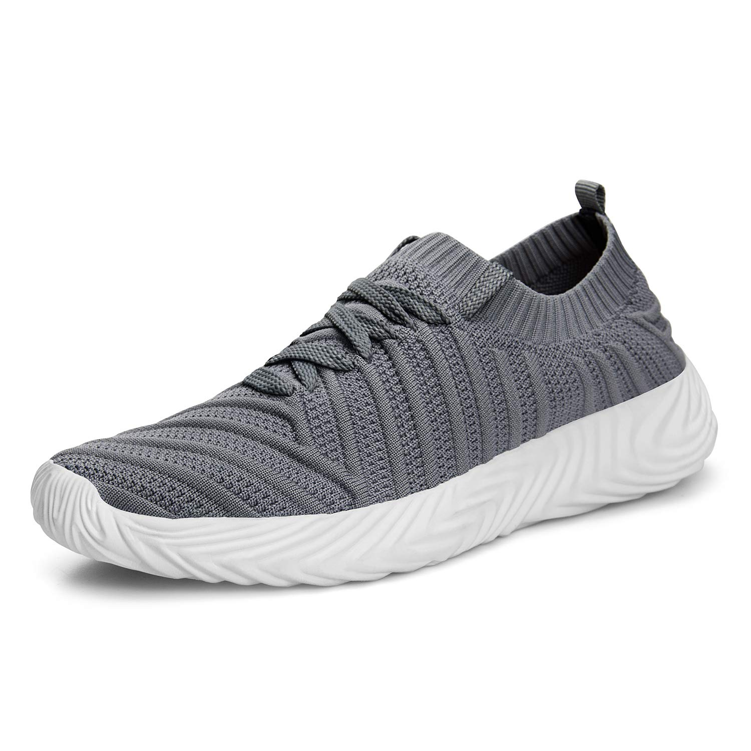 ZOCAVIA Men s Sneakers Ligthweight Non Slip Breathable Mesh Casual Walking Workout Running Shoes