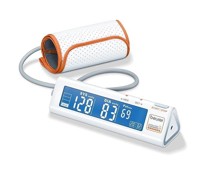 Beurer BM-90 - Tensiómetro de brazo, transmisión sin cable a internet, memoria de 60 mediciones: Amazon.es: Salud y cuidado personal