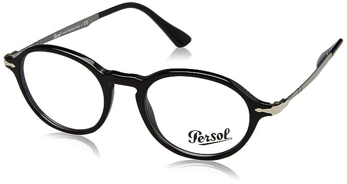 Persol 0PO3180V, Monturas de Gafas para Hombre, Black, 48