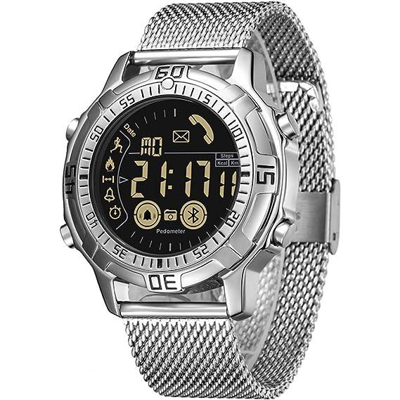 Watches Smartwatch Podómetro 50m Impermeable Swim Diving Reloj ...