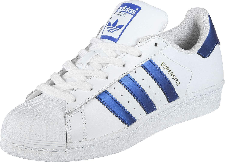 adidas Originals Superstar Shoes FTWR WhiteCollegiate NavyGold met. 1819