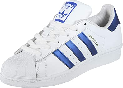 adidas Originals Superstar Shoes FTWR White Collegiate Navy Gold met.  18 19  Amazon.fr  Chaussures et Sacs 261c080a4b3f