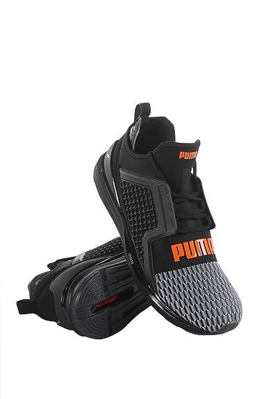 PUMA Men s Ignite Limitless Color Block Black Quiet Shade Orange Clown Fish  6.5 D US  Amazon.co.uk  Shoes   Bags 88a1738c3