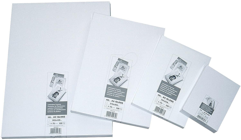 Unbranded/No Brand ER03100 Pouch per Plastificazione A3, 100 Mic, Confezione da 100 ACCO Brands
