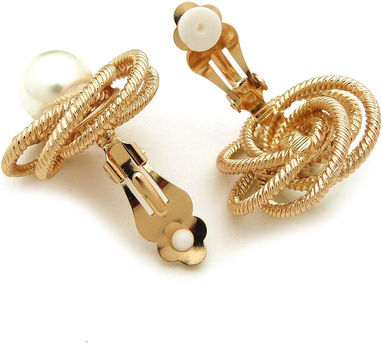 BNisBM Girls Jewelry Petal Flower Cute Stud Earrings 5-Color Hypoallergenic Earrings Set for Women