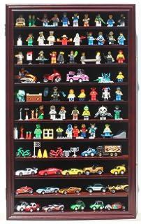 LEGO Minifigures Miniature Figures Display Case Wall Curio Cabinet, HW11-MAH
