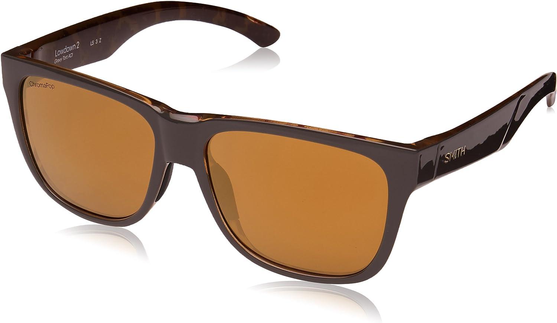 Smith Optics LOWDOWN 2 GRAVY TORTOISE/CHROMAPOP POLARIZED 55/16/145 unisex Sunglasses