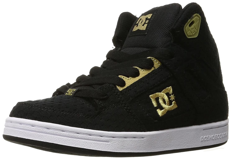 noir or 35 EU DC chaussures Rebound TX Se, Chassures de Sports extérieurs Fille