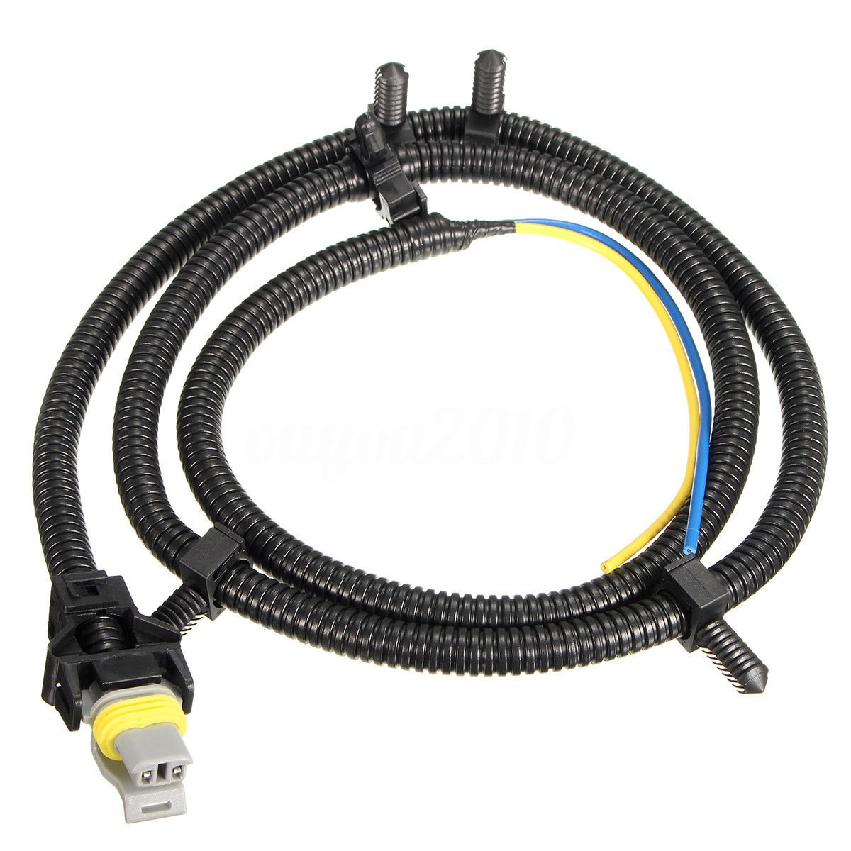 Amostek 1pc Abs Wheel Speed Sensor Wire Harness For Cadillac Srx Brake Wiring Buick Rendezvous Terraza Cts Deville Sts Chevrolet Impala Monte Carlo