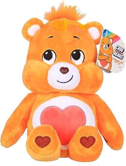 Message Recorder Stuffed Animals, Amazon Com Care Bears Tenderheart Bear Bean Plush Toys Games